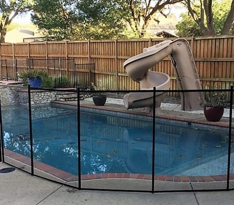 Pool Safety Fence Installation In Dfw Red River Fence