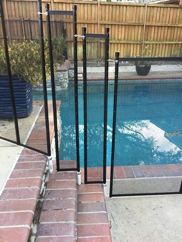 Pool Safety Fence Installation In Dfw Red River Fence Dallas Fort Worth Tx